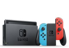 Nintendo Switch (2019) Blue/Red